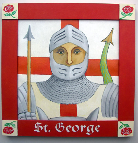 St George Patron Saint of England | A new painting of St Geo ...
