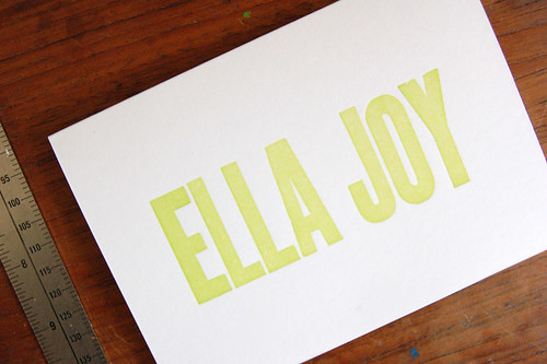announcing ella joy | by m a v