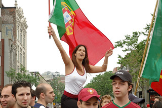 Portugese Female Fan On Top | by austinhk
