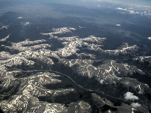 Rockies from the air | by scriptingnews