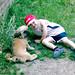 Kieren & dog