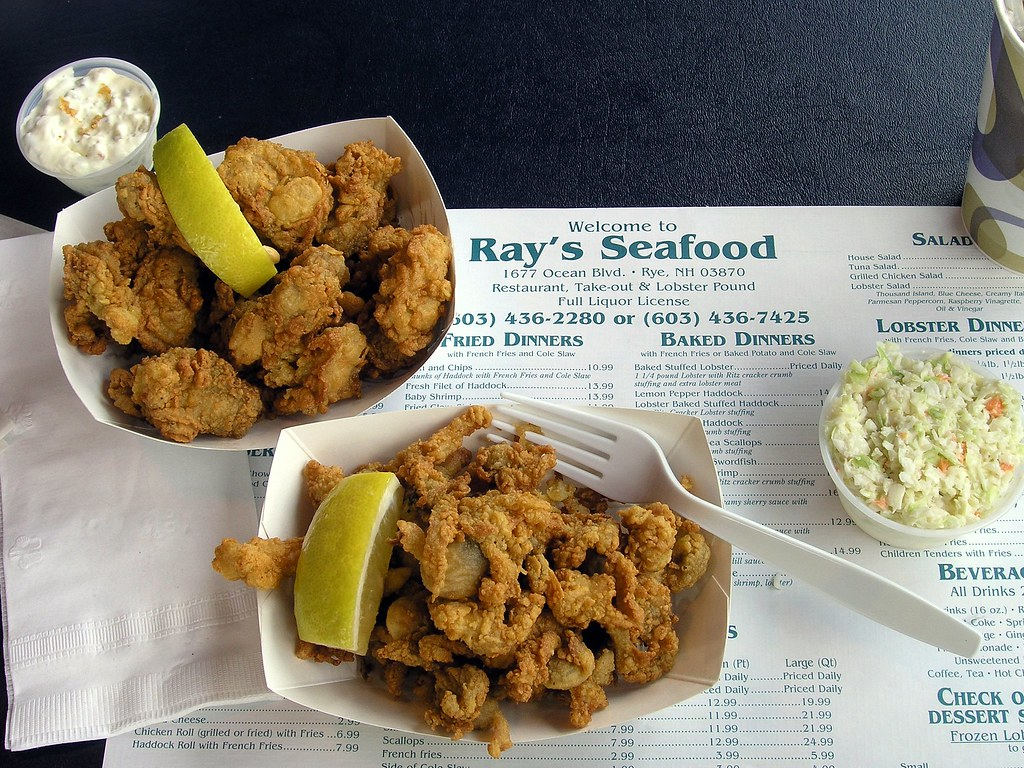 Ray S Seafood Restaurant Rye Nh
