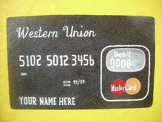 Hand-painted credit card | by Brett L.