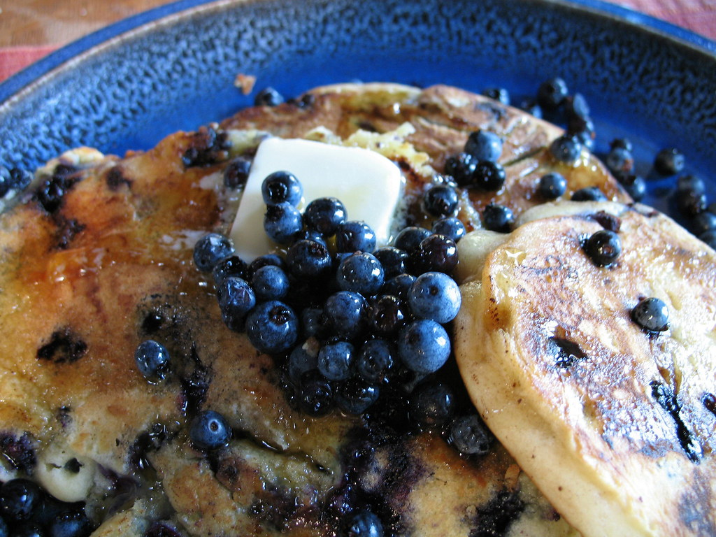 Blue Berry Pan Cake Oreo
