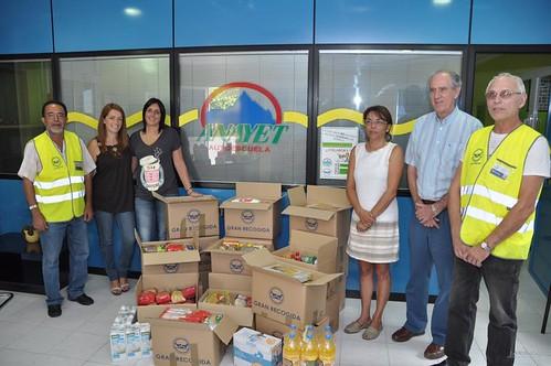 Noticias de ag imes la campa a de la autoescuela anayet a beneficio del banco de alimentos de - Banco de alimentos de las palmas ...