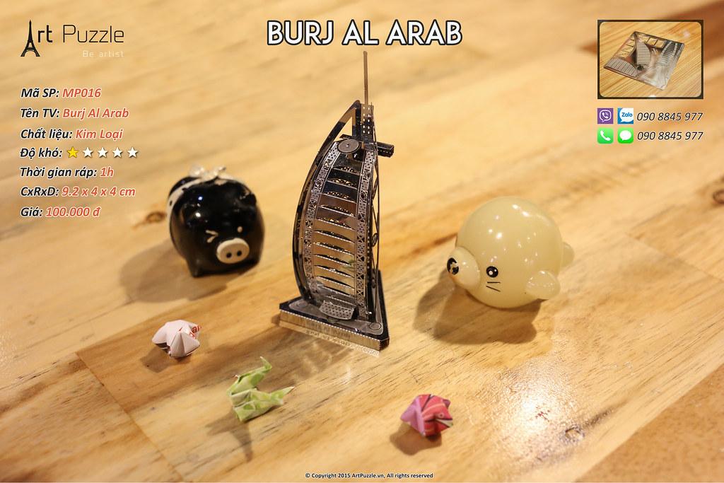 Art Puzzle - Chuyên mô hình kim loại (kiến trúc, tàu, xe tăng...) tinh tế và sắc sảo - 19