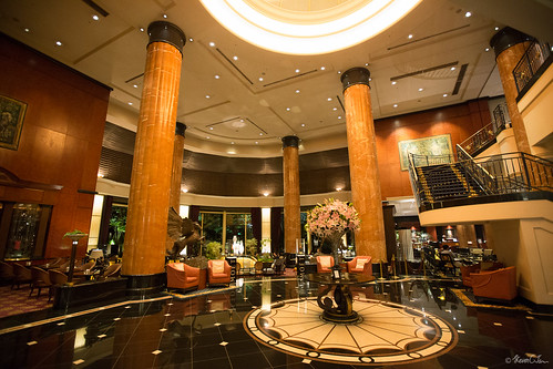 Westin Tokyo lobby