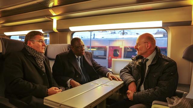 Départ en TGV de Paris Est pour Strasbourg