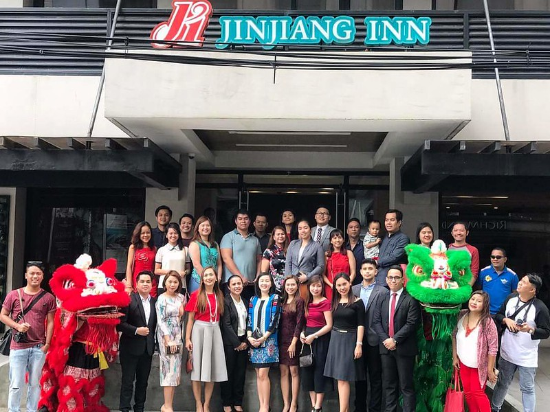 chinese new year celebrations at Jinjiang Inn