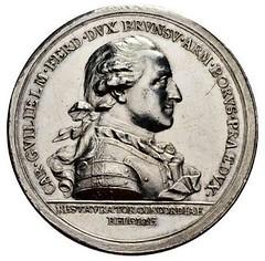 1787 Karl Wilhelm Ferdinand Medal obverse