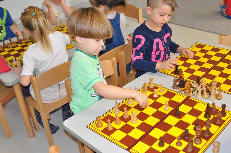 To będą mocni zawodnicy! - pierwsze rozgrywki szachowe