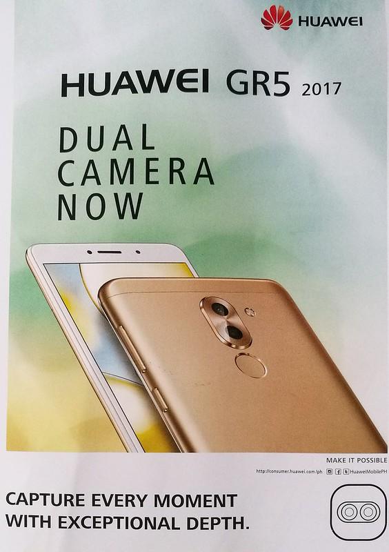 Huawei GR5 2017 dual lens camera