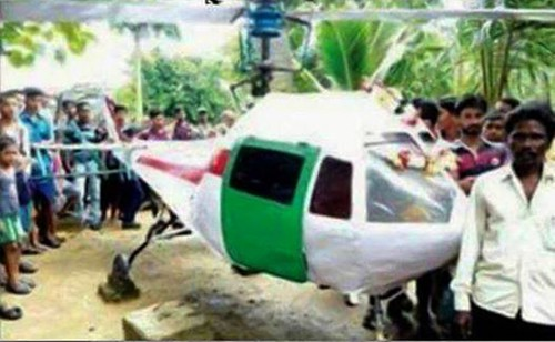 Worlds Cheapest Helicopter, Garage Mechanic From Odisha Built Worlds Cheapest Helicopter & Proved Why Degree's Not Always Important