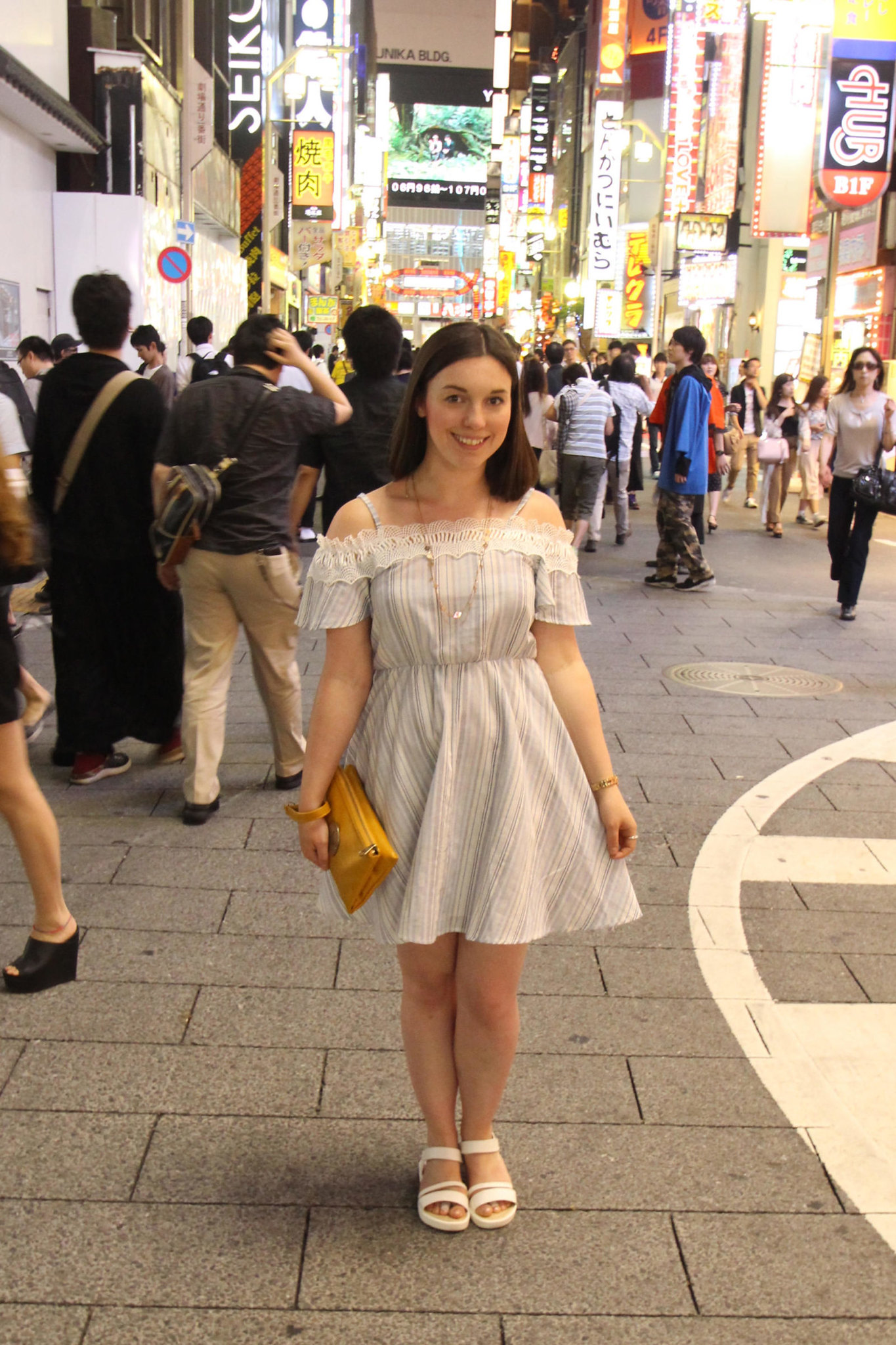 Fashion blogger UK Tokyo travel street style Shinjuku