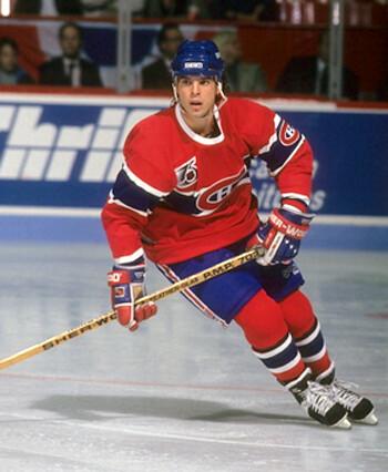 Courtnall Canadiens
