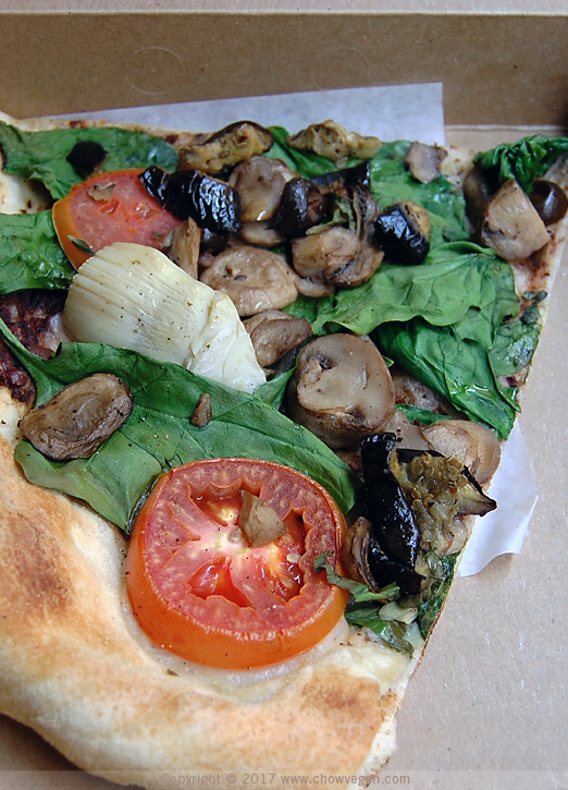 Slice of Whole Foods Vegan Pizza | Chow Vegan