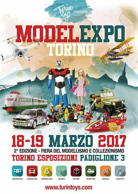 Model Expo Torino 2017 - Turin Toys