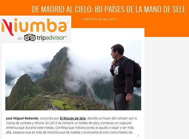 Entrevista en Niumba