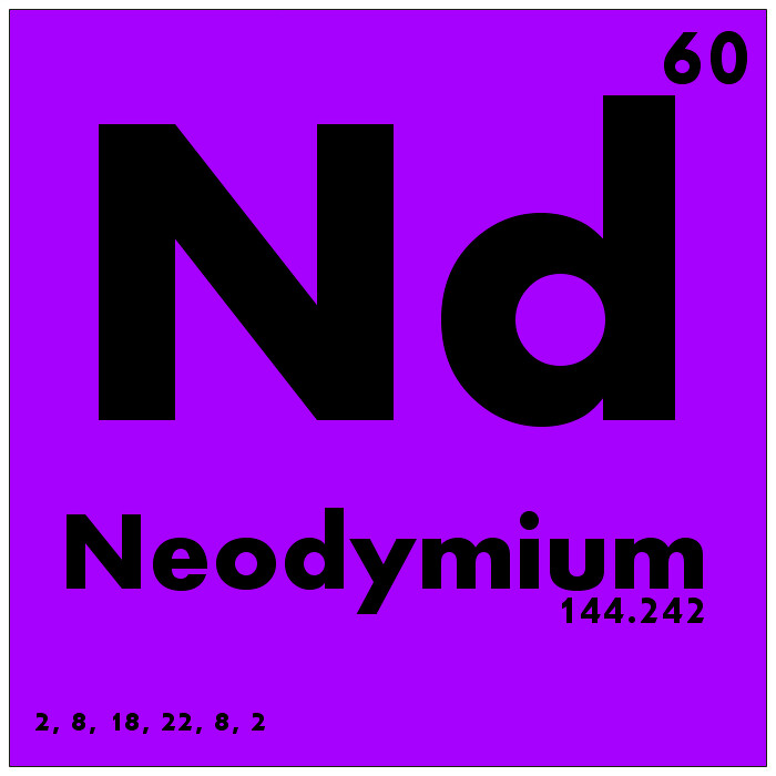 060 Neodymium Periodic Table Of Elements Watch Study Gui Flickr
