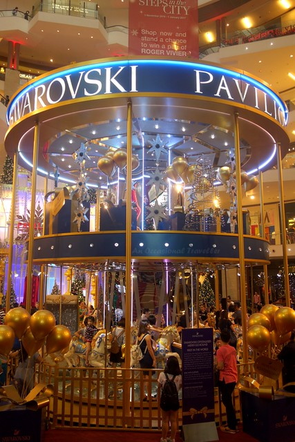 Swarovski-Crystallised Merry Go Round