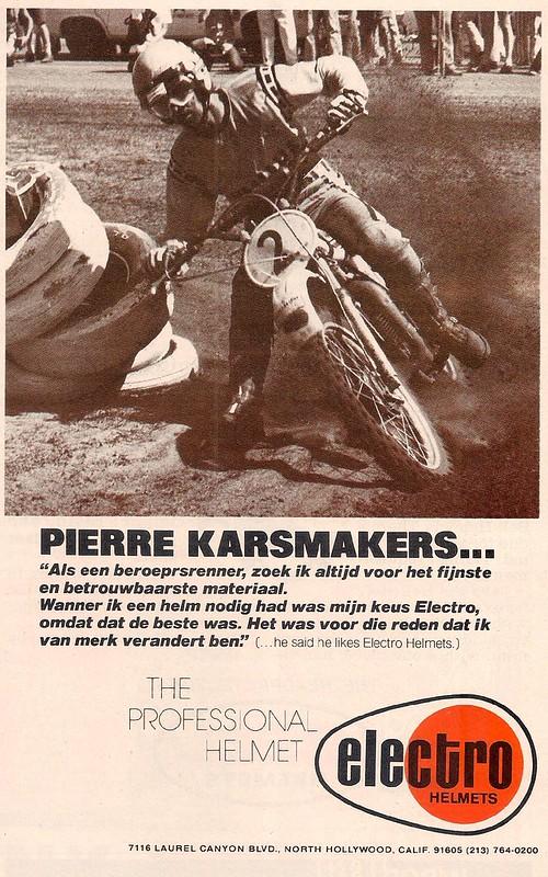 Electro helmets Pierre Karsmakers