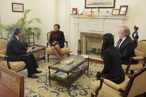 Secretária Executiva recebeu Embaixador do Japão em Portugal