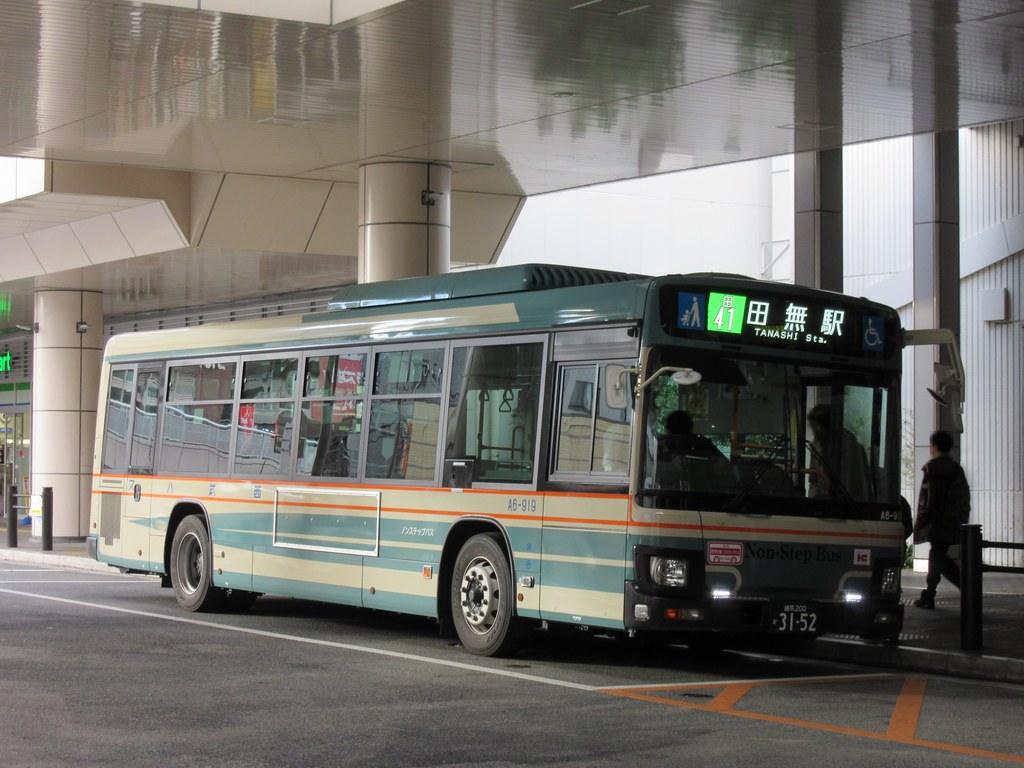 西武バス | 保谷駅南口にて 田41...