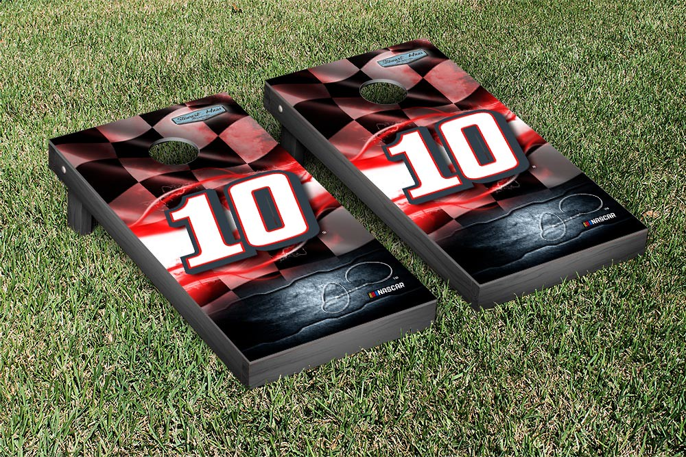 DANICA PATRICK #10 CORNHOLE GAME SET NIGHTLIGHTS TAX ACT VERSION