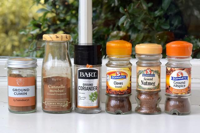 Ground Spices   www.rachelphipps.com @rachelphipps