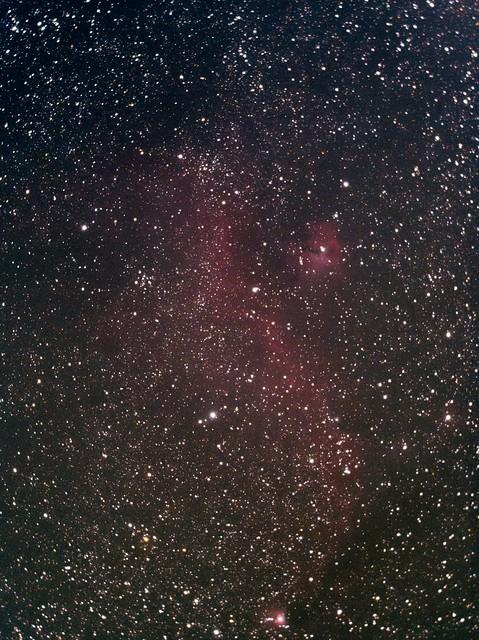 わし星雲(Seagull Nebula) (2017/1/26 23:24)