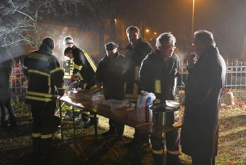 Adventstreffen #5: Feuerwehr beim Catering