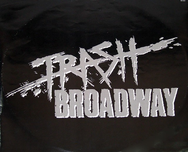 "TRASH BROADWAY S/T SELF-TITLED JOE STUMP 12"" vinyl LP"