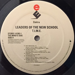 LEADERS OF THE NEW SCHOOL:T.I.M.E.(LABEL SIDE-D)