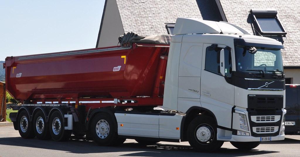Volvo Fh4 500 Semi Benne Marrel La Bruy 232 Re Cl 233 Den Poher