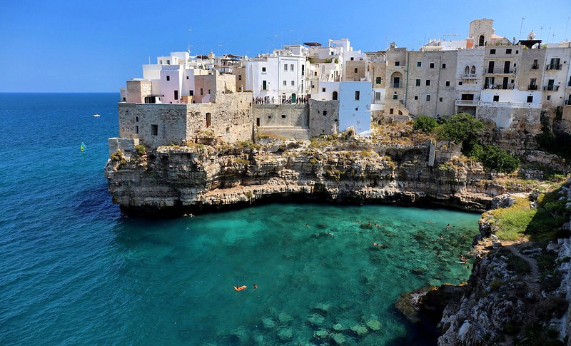 Puglia látnivalói - Poligamo a Mare