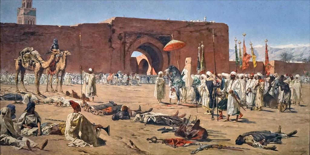 Bout d'histoire marocaine avec