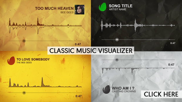 Techno Music Visualizer By NAEL Studio