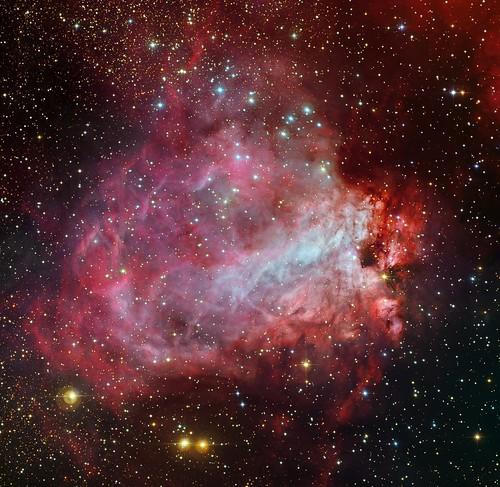 VCSE - Mai kép - Messier 17