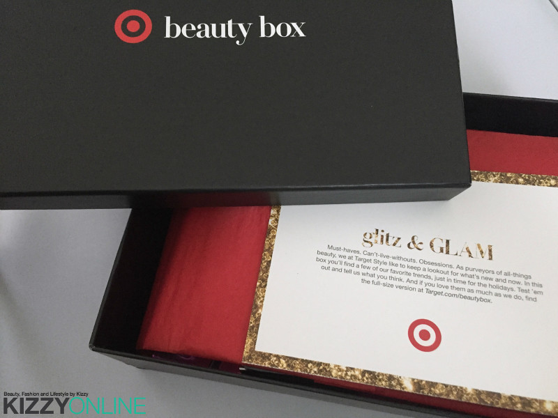 Target Holiday 2015 Beauty Box Him Her