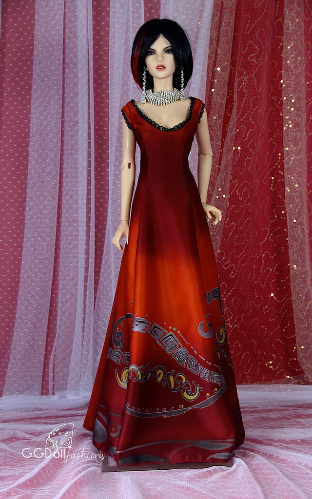 Christmas Gown 2015 by GGDollFashions   Evening Gown by GGDo…   Flickr