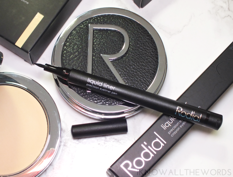 rodial liquid liner precision eyeliner black