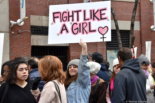 Women's March On NYC (15)