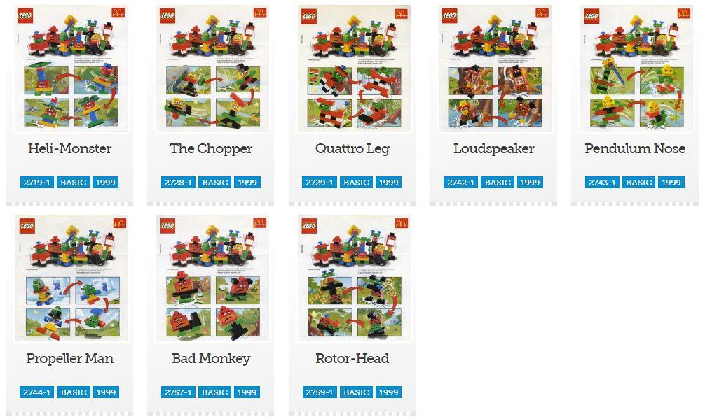 McDonald's Happy Meal promotions   Brickset: LEGO set guide
