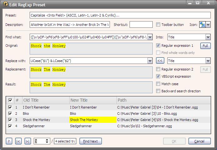 RegExpReplace-4.4.7 - Edit Preset