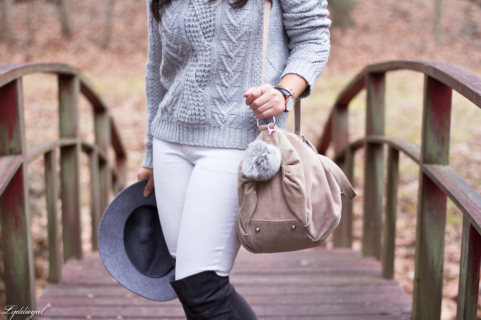 grey sweater, white jeans, over the knee boots-5.jpg