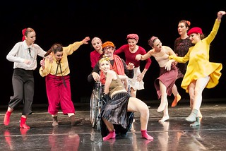 "Bari. Spettacolo teatro-danza ""In the Mood For Dance 2"" front"