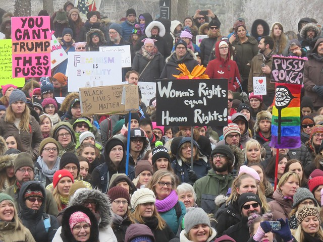 Women's March on Washington - Edmonton Solidary Event