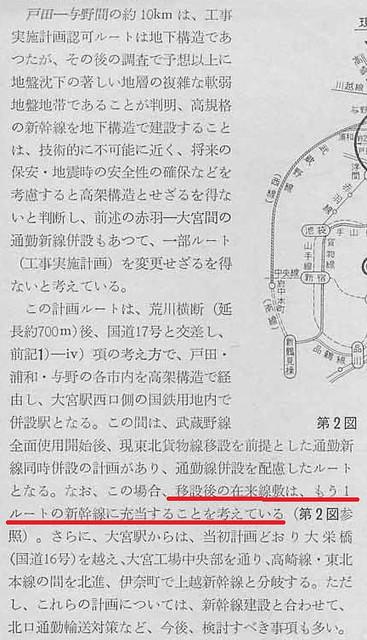 上越新幹線 新宿-大宮間ルート (23)