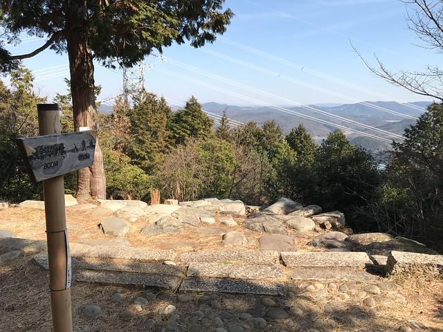 尾張富士 山頂から入鹿池