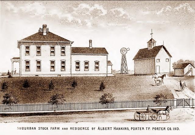 Hankins farm Porter twp